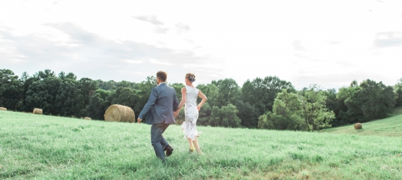Isabelle and Jeff - An Intimate Culpeper Wedding