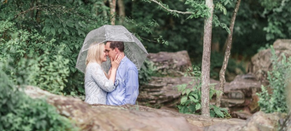 Anne and Jon - A Great Falls Engagement Session - Warrenton Wedding Photographer