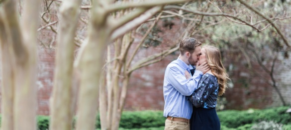 Mollie and Garrett - An Alexandria Engagement Session - Charlottesville Wedding Photographer