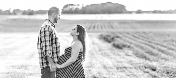 Caitlin and Duck - A Culpeper Maternity Session