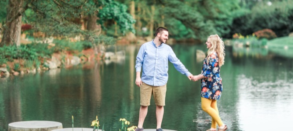 Hayley and Sam - A Maymont Engagement Session - Charlottesville Wedding Photographer